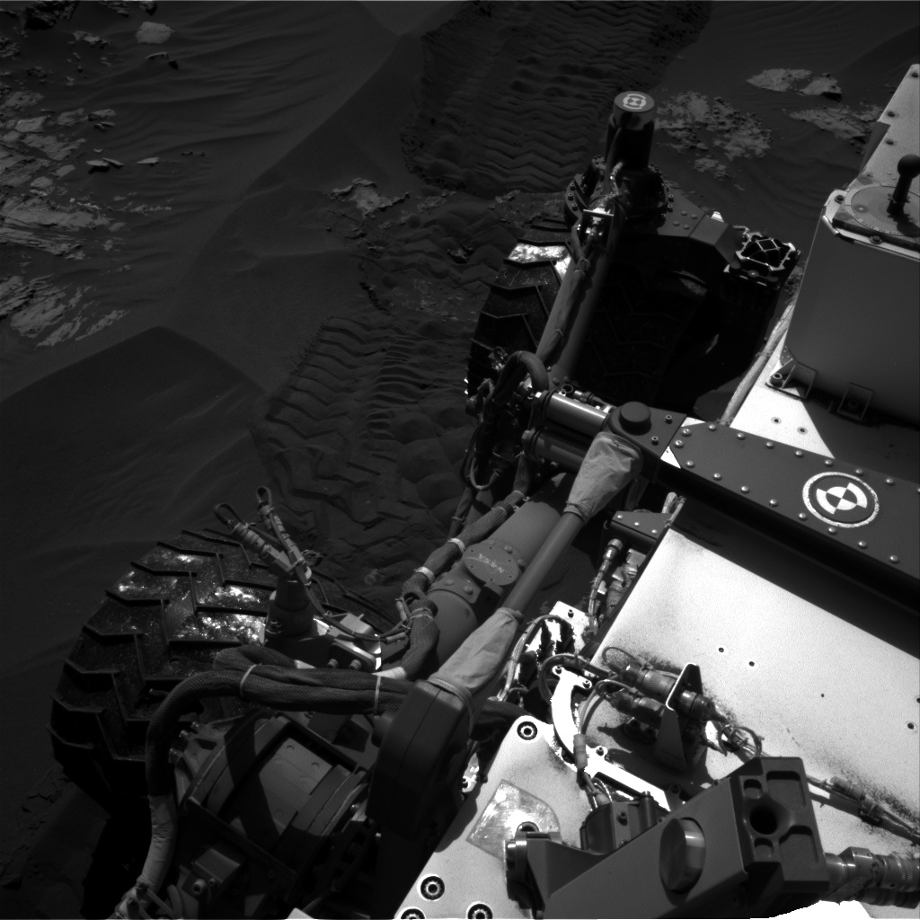 Nasa's Mars rover Curiosity acquired this image using its Right Navigation Camera on Sol 1181, at drive 1298, site number 51