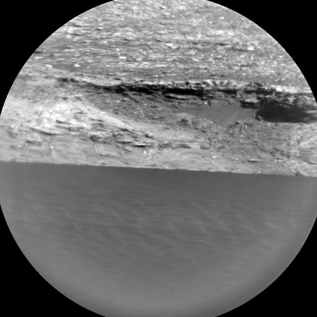 Nasa's Mars rover Curiosity acquired this image using its Chemistry & Camera (ChemCam) on Sol 1181, at drive 1298, site number 51