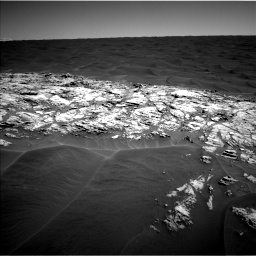 Nasa's Mars rover Curiosity acquired this image using its Left Navigation Camera on Sol 1183, at drive 1310, site number 51