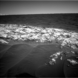 Nasa's Mars rover Curiosity acquired this image using its Left Navigation Camera on Sol 1183, at drive 1322, site number 51