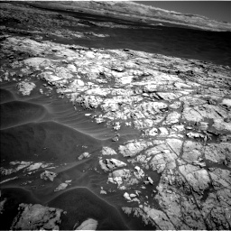 Nasa's Mars rover Curiosity acquired this image using its Left Navigation Camera on Sol 1183, at drive 1388, site number 51