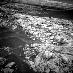Nasa's Mars rover Curiosity acquired this image using its Left Navigation Camera on Sol 1183, at drive 1406, site number 51