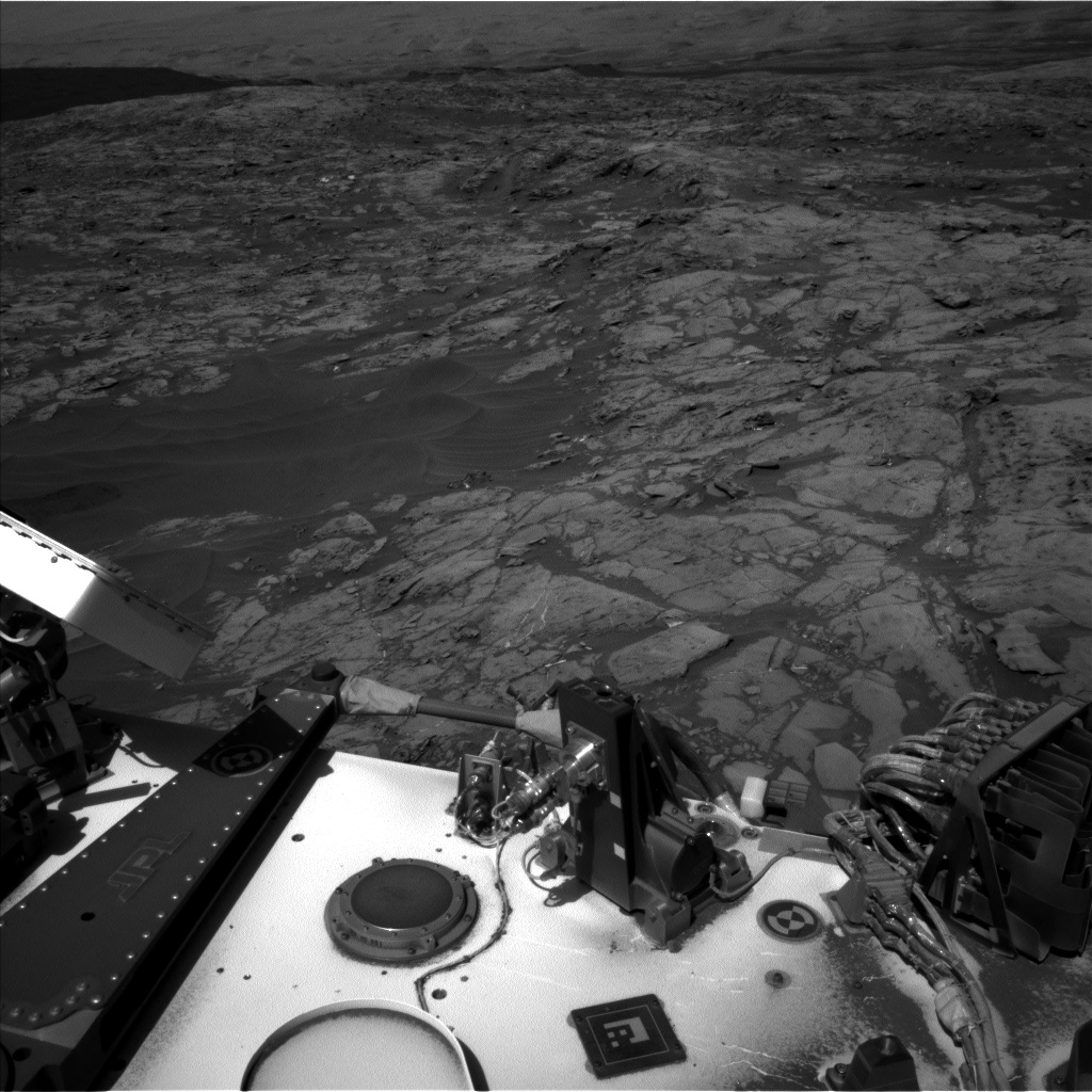 Nasa's Mars rover Curiosity acquired this image using its Left Navigation Camera on Sol 1183, at drive 1430, site number 51