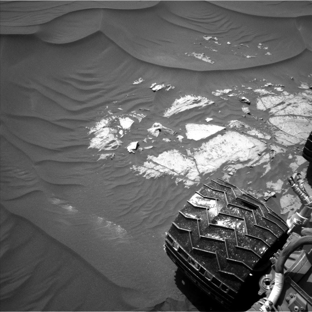 NASA's Mars rover Curiosity acquired this image using its Left Navigation Camera (Navcams) on Sol 1183