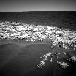 Nasa's Mars rover Curiosity acquired this image using its Right Navigation Camera on Sol 1183, at drive 1310, site number 51