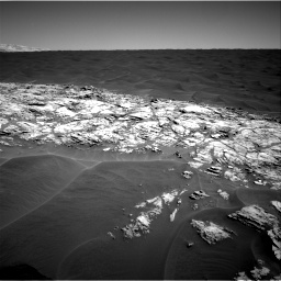 Nasa's Mars rover Curiosity acquired this image using its Right Navigation Camera on Sol 1183, at drive 1328, site number 51