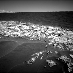Nasa's Mars rover Curiosity acquired this image using its Right Navigation Camera on Sol 1183, at drive 1334, site number 51