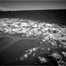 Nasa's Mars rover Curiosity acquired this image using its Right Navigation Camera on Sol 1183, at drive 1340, site number 51
