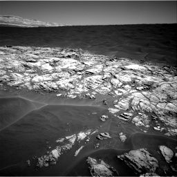 Nasa's Mars rover Curiosity acquired this image using its Right Navigation Camera on Sol 1183, at drive 1346, site number 51