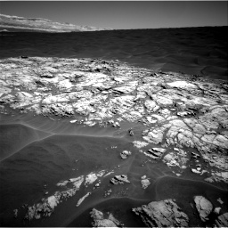 Nasa's Mars rover Curiosity acquired this image using its Right Navigation Camera on Sol 1183, at drive 1352, site number 51