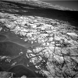 Nasa's Mars rover Curiosity acquired this image using its Right Navigation Camera on Sol 1183, at drive 1382, site number 51