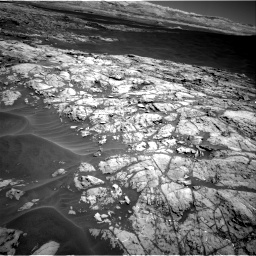 Nasa's Mars rover Curiosity acquired this image using its Right Navigation Camera on Sol 1183, at drive 1388, site number 51