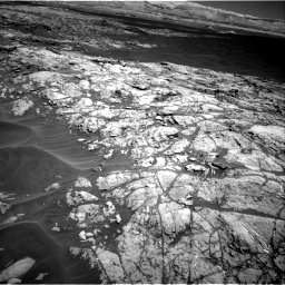 Nasa's Mars rover Curiosity acquired this image using its Right Navigation Camera on Sol 1183, at drive 1394, site number 51