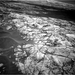 Nasa's Mars rover Curiosity acquired this image using its Right Navigation Camera on Sol 1183, at drive 1400, site number 51