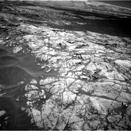 Nasa's Mars rover Curiosity acquired this image using its Right Navigation Camera on Sol 1183, at drive 1406, site number 51
