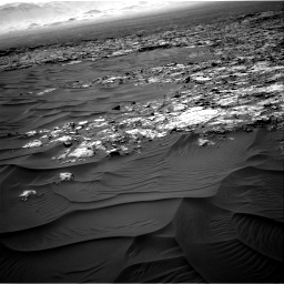 Nasa's Mars rover Curiosity acquired this image using its Right Navigation Camera on Sol 1183, at drive 1412, site number 51