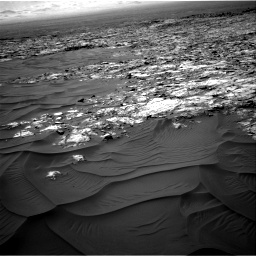 Nasa's Mars rover Curiosity acquired this image using its Right Navigation Camera on Sol 1183, at drive 1418, site number 51
