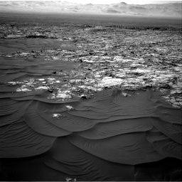 Nasa's Mars rover Curiosity acquired this image using its Right Navigation Camera on Sol 1183, at drive 1424, site number 51