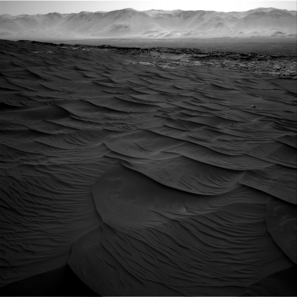 Nasa's Mars rover Curiosity acquired this image using its Right Navigation Camera on Sol 1183, at drive 1430, site number 51