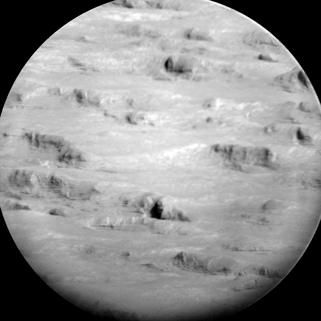 Nasa's Mars rover Curiosity acquired this image using its Chemistry & Camera (ChemCam) on Sol 1183, at drive 1430, site number 51