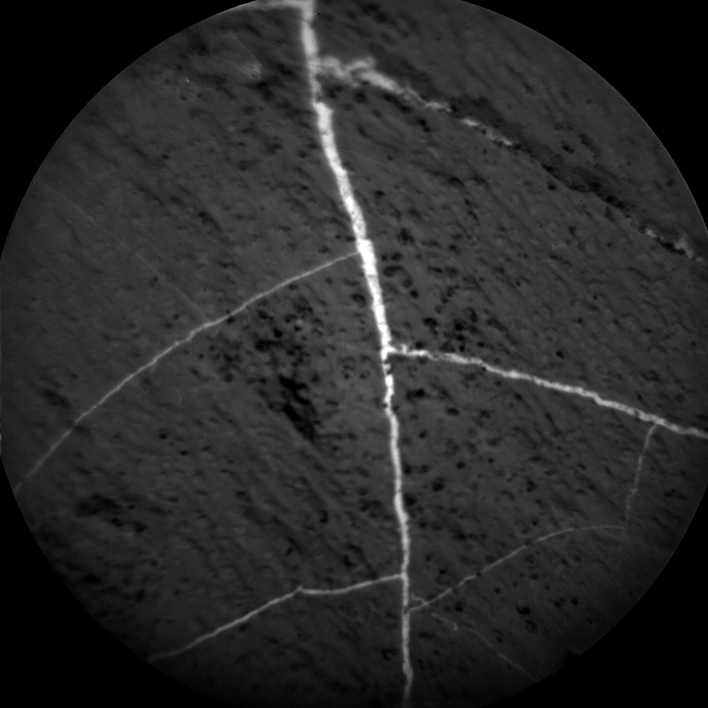 Nasa's Mars rover Curiosity acquired this image using its Chemistry & Camera (ChemCam) on Sol 1184, at drive 1430, site number 51