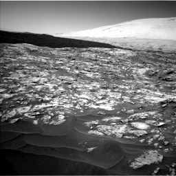 Nasa's Mars rover Curiosity acquired this image using its Left Navigation Camera on Sol 1185, at drive 1496, site number 51