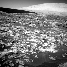 Nasa's Mars rover Curiosity acquired this image using its Left Navigation Camera on Sol 1185, at drive 1544, site number 51