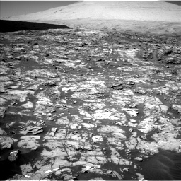 Nasa's Mars rover Curiosity acquired this image using its Left Navigation Camera on Sol 1185, at drive 1562, site number 51