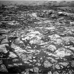 Nasa's Mars rover Curiosity acquired this image using its Left Navigation Camera on Sol 1185, at drive 1598, site number 51