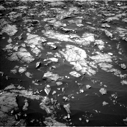 Nasa's Mars rover Curiosity acquired this image using its Left Navigation Camera on Sol 1185, at drive 1694, site number 51