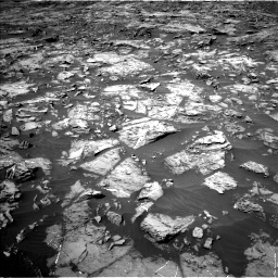 Nasa's Mars rover Curiosity acquired this image using its Left Navigation Camera on Sol 1185, at drive 1718, site number 51