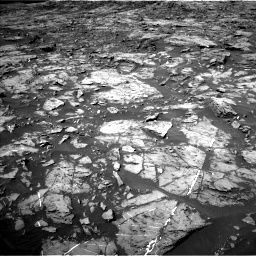 Nasa's Mars rover Curiosity acquired this image using its Left Navigation Camera on Sol 1185, at drive 1730, site number 51