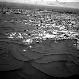 Nasa's Mars rover Curiosity acquired this image using its Right Navigation Camera on Sol 1185, at drive 1436, site number 51