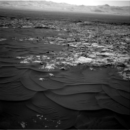 Nasa's Mars rover Curiosity acquired this image using its Right Navigation Camera on Sol 1185, at drive 1448, site number 51