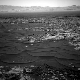 Nasa's Mars rover Curiosity acquired this image using its Right Navigation Camera on Sol 1185, at drive 1472, site number 51
