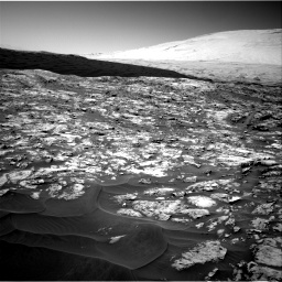 Nasa's Mars rover Curiosity acquired this image using its Right Navigation Camera on Sol 1185, at drive 1496, site number 51