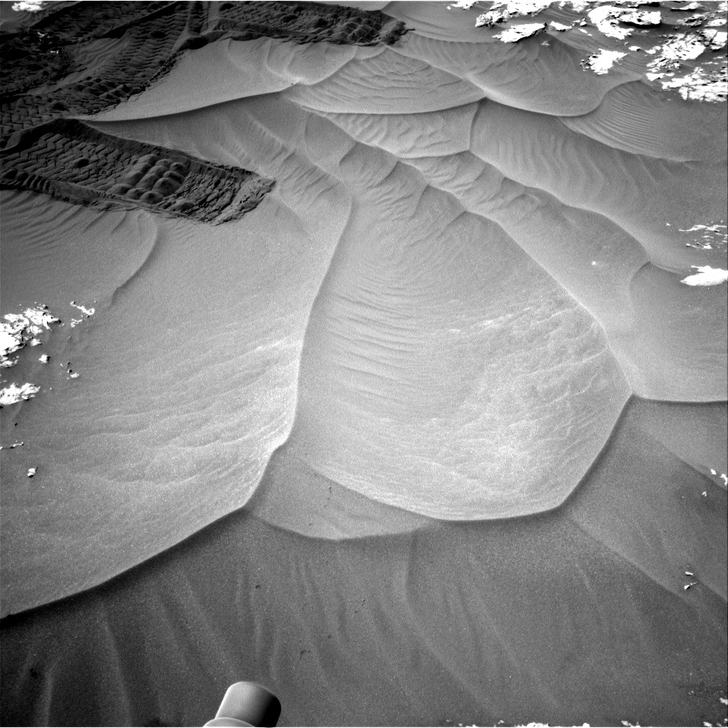 Nasa's Mars rover Curiosity acquired this image using its Right Navigation Camera on Sol 1185, at drive 1502, site number 51
