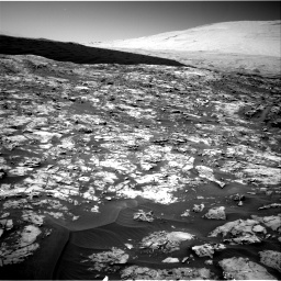 Nasa's Mars rover Curiosity acquired this image using its Right Navigation Camera on Sol 1185, at drive 1526, site number 51