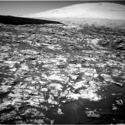 Nasa's Mars rover Curiosity acquired this image using its Right Navigation Camera on Sol 1185, at drive 1550, site number 51