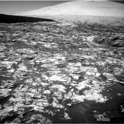 Nasa's Mars rover Curiosity acquired this image using its Right Navigation Camera on Sol 1185, at drive 1556, site number 51