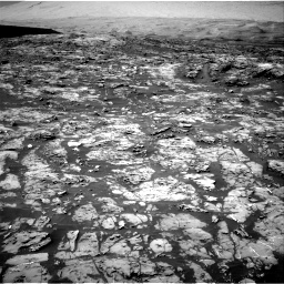 Nasa's Mars rover Curiosity acquired this image using its Right Navigation Camera on Sol 1185, at drive 1580, site number 51