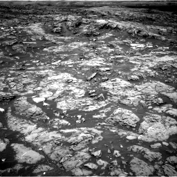 Nasa's Mars rover Curiosity acquired this image using its Right Navigation Camera on Sol 1185, at drive 1610, site number 51