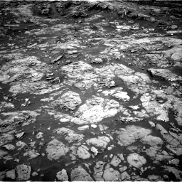 Nasa's Mars rover Curiosity acquired this image using its Right Navigation Camera on Sol 1185, at drive 1622, site number 51