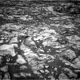 Nasa's Mars rover Curiosity acquired this image using its Right Navigation Camera on Sol 1185, at drive 1634, site number 51