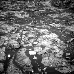 Nasa's Mars rover Curiosity acquired this image using its Right Navigation Camera on Sol 1185, at drive 1646, site number 51
