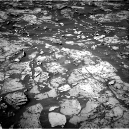 Nasa's Mars rover Curiosity acquired this image using its Right Navigation Camera on Sol 1185, at drive 1652, site number 51