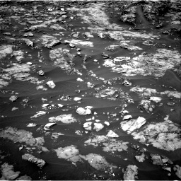 Nasa's Mars rover Curiosity acquired this image using its Right Navigation Camera on Sol 1185, at drive 1670, site number 51
