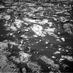 Nasa's Mars rover Curiosity acquired this image using its Right Navigation Camera on Sol 1185, at drive 1688, site number 51