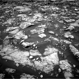 Nasa's Mars rover Curiosity acquired this image using its Right Navigation Camera on Sol 1185, at drive 1712, site number 51