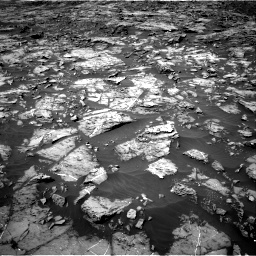 Nasa's Mars rover Curiosity acquired this image using its Right Navigation Camera on Sol 1185, at drive 1718, site number 51